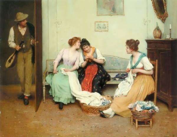 The Friendly Gossips